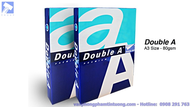 giấy Double A A3 80 Gsm