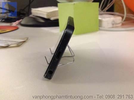 Kệ chống lưng điện thoại với kẹp giấy