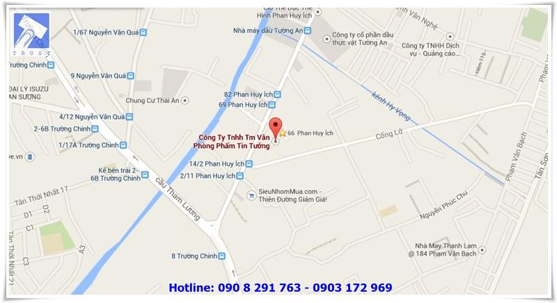 Tin Tưởng cung cấp văn phòng phẩm tại quận Tân Bình
