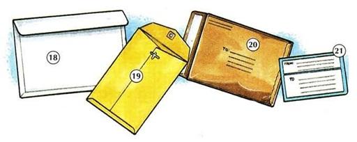 Danh mục văn phòng phẩm Tiếng Anh - Office supplies 05
