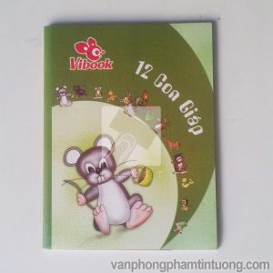 Tập Vibook 100 trang 12 con giáp