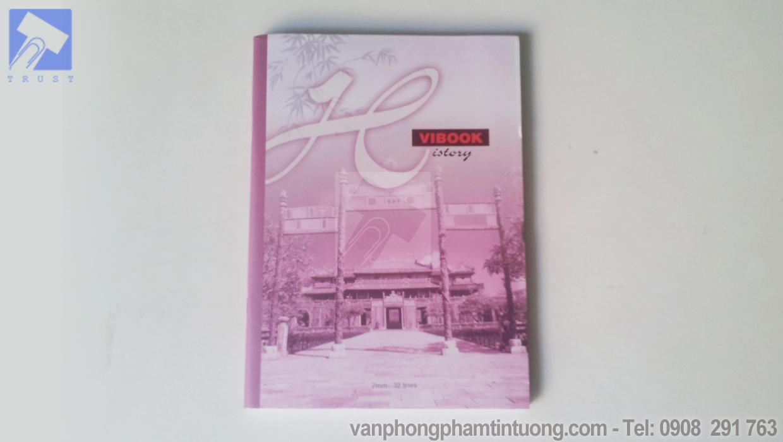 Tập Vibook 200 trang kẻ ngang khổ lớn F4