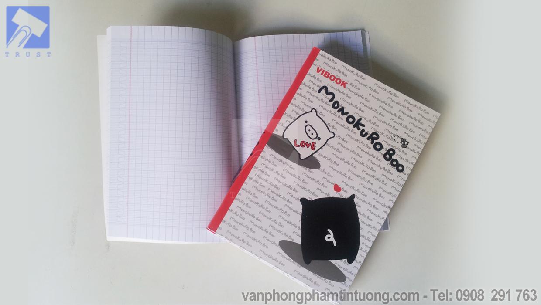 Tập Vibook 200 trang ô ly khổ lớn (F)