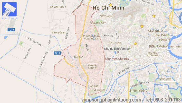 Văn phòng phẩm quận Bình Tân