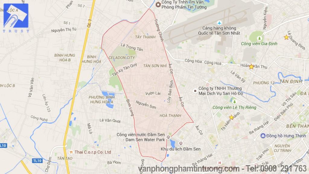 Văn phòng phẩm quận Tân Phú