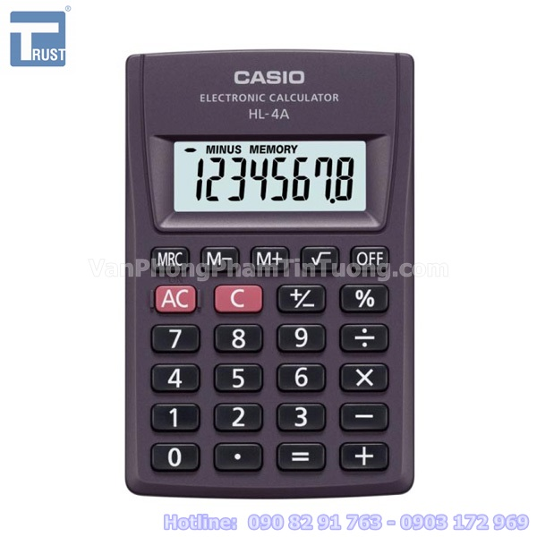 May tinh Casio HL-4A - 0908 291 763